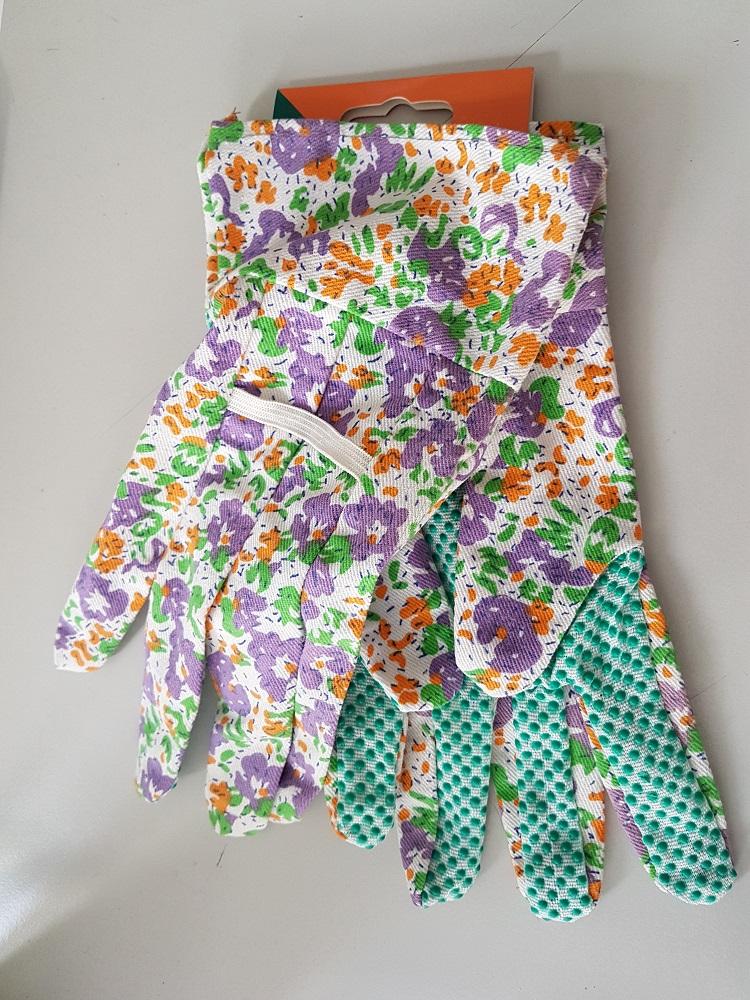 Arbeitshandschuhe-Garten-Handschuhe-rote-Blumen-Cotton-PF