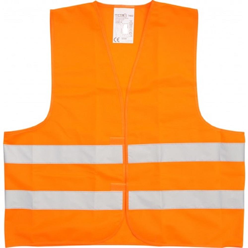 warnweste sicherheitsweste din en471 gelb orange l xl xxl xxxl panne unfall auto ebay. Black Bedroom Furniture Sets. Home Design Ideas