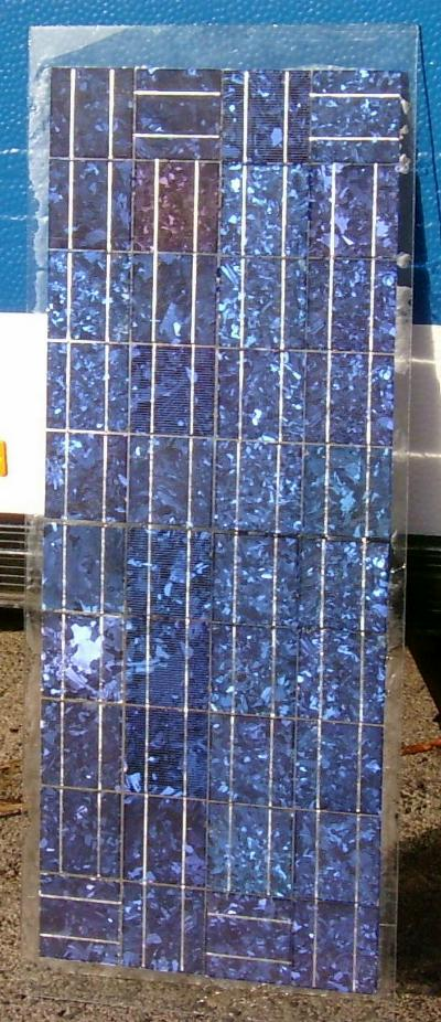 bauanleitung f r solarmodule aus solarzellen ebay. Black Bedroom Furniture Sets. Home Design Ideas