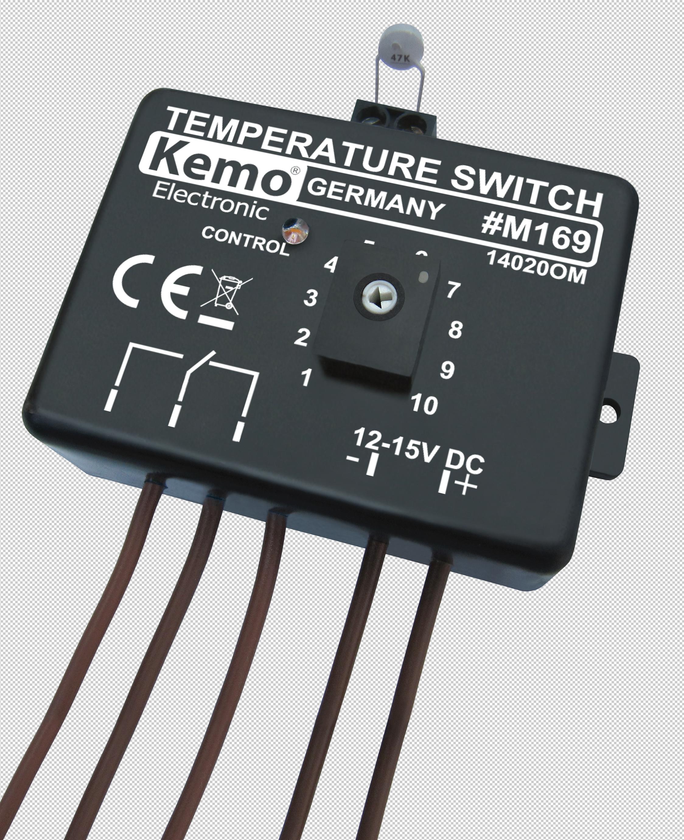 Kemo-Temperaturschalter-Temperatur-Regler-Thermostat